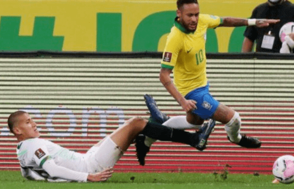 Brazil Colombia won the FIFA World Cup qualifiers