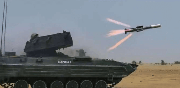 India successfully conducted a final test of Nag Anti Tank Guided Missile