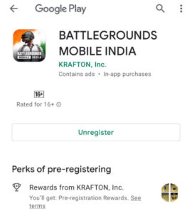 Will you click install when available after that your work is finished. After that you will see it on the play store. Then you see an unregistered button on Play Store