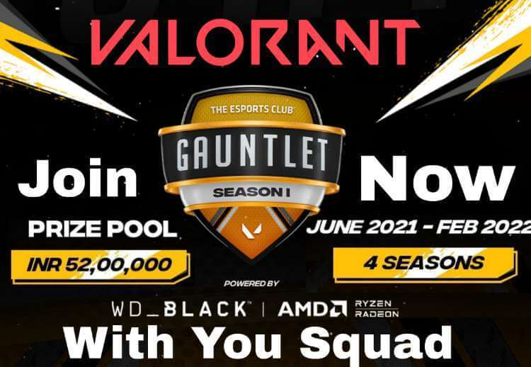 52 lakh prize pool Vallorant The largest competitive Valorant league in South Asia How to Join