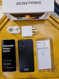 Accessories with samsung galaxy a52