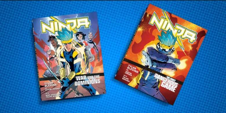 Ninja graphic novel is now available full novel graphic series