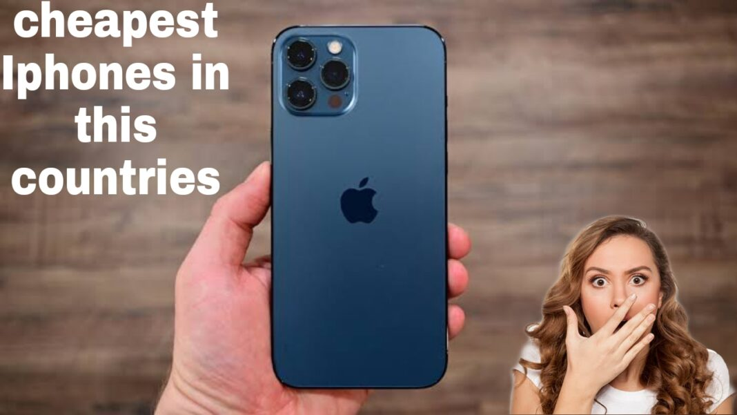 why other countries have cheapest iphone and india not?