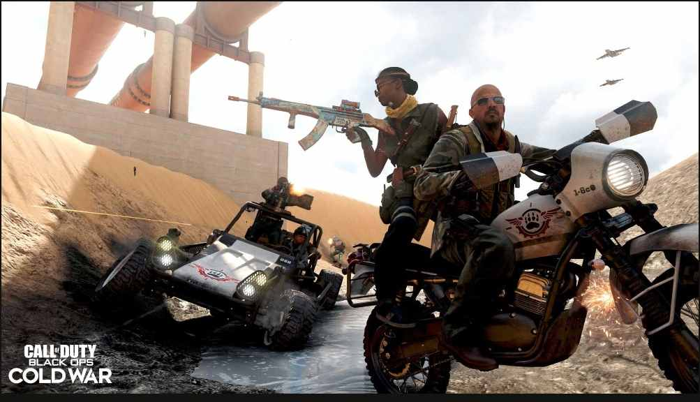 Call of Duty : Black Ops Cold War And Warzone Details:C58