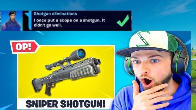 Ali-A taking about upcoming sniper in fortinte battle Royale