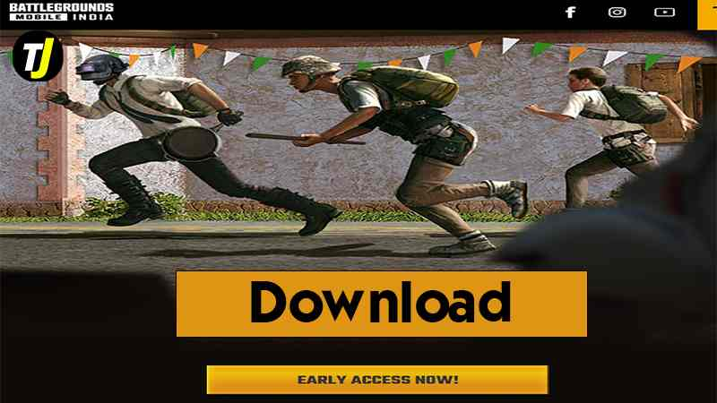 How to Download Early Access of BGMI(Battleground Mobile India)