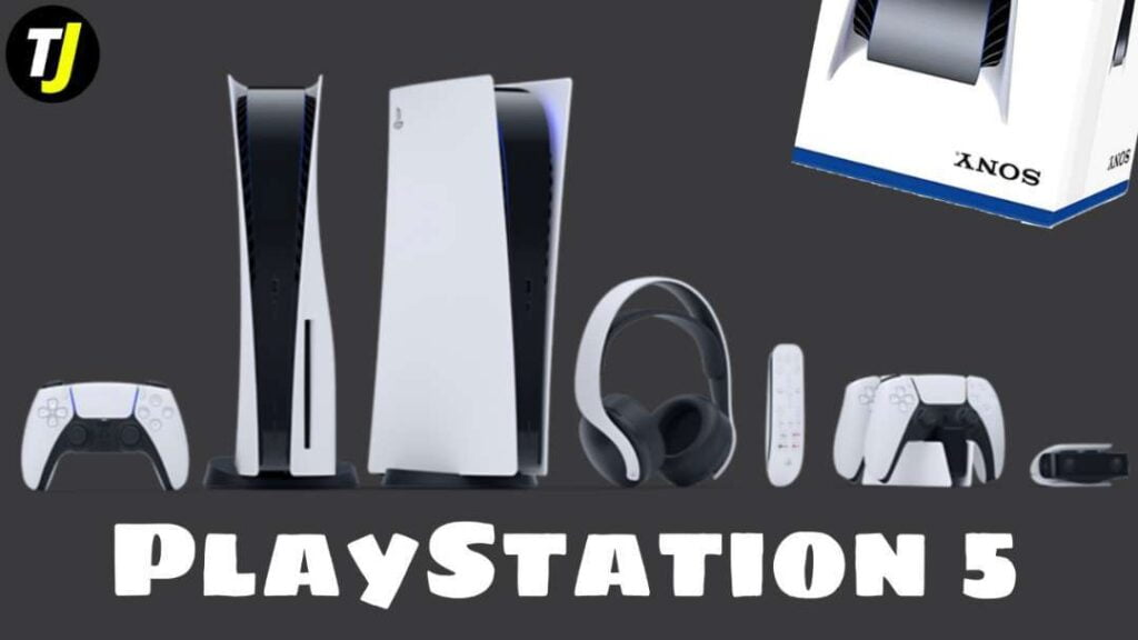 PlayStation 5 all accessories and equipment
