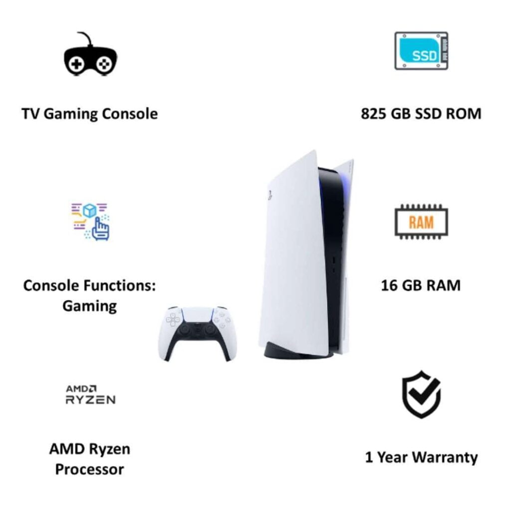 PlayStation 5 India Specification