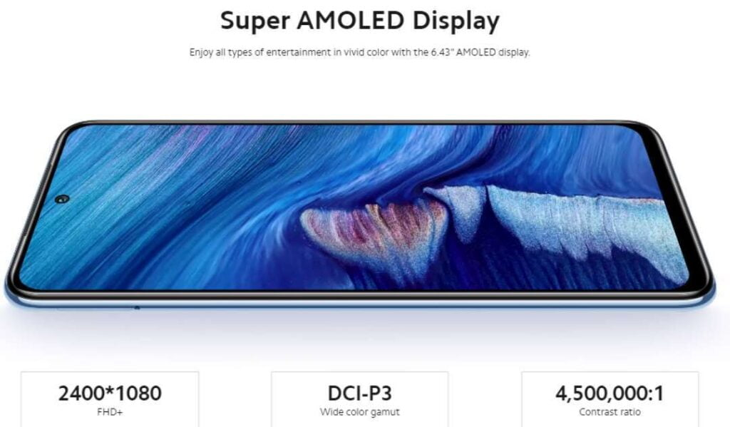 Redmi Note 10S With Super Amoled Display