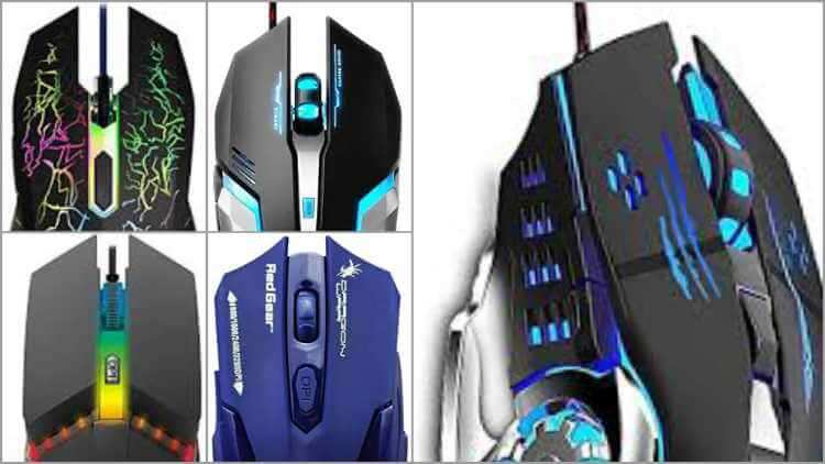 Top 5 gaming mouse under 500 in 2021 - TrendingJagat