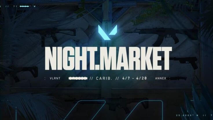 Valorant night market is back it well be part of YR1 events Of games