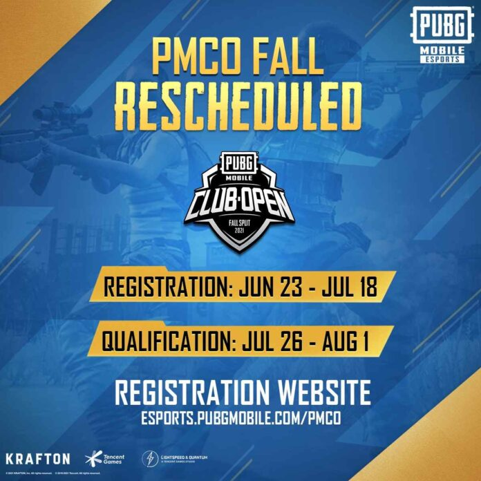 PUBG Mobile World PMCO 2021 Prizes Pool Rules and Guidelines