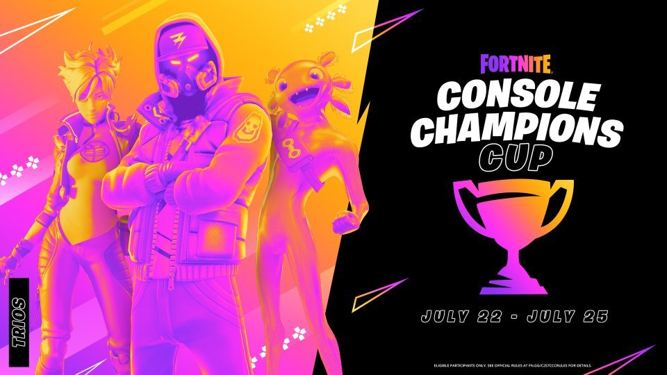 Fortnite Announced Console Champion Cup Check Details