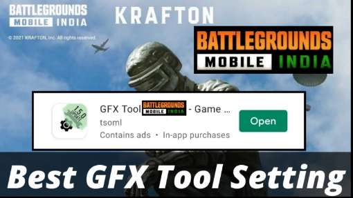 Best GFX Tool Setting for 60 FPS Game in BGMI