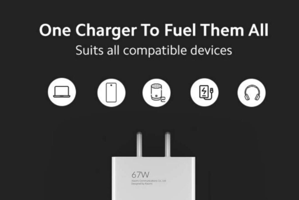 MI 67W SonicCharge 3.0 Combo charger key specification