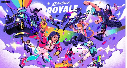 Fortnite Rainbow Royale Event And Free Skin Details