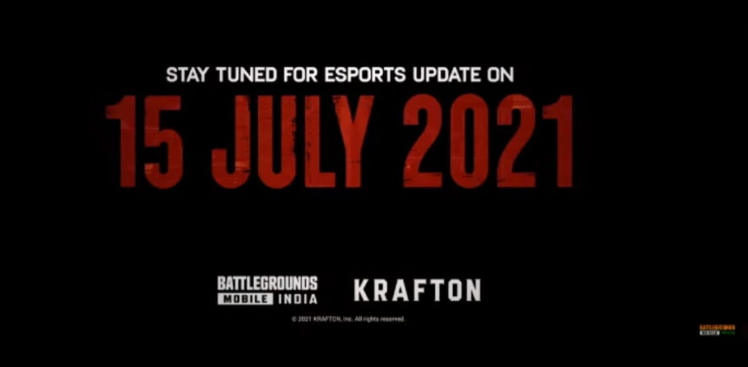 BGMI Mobile India Announced ESports Tournament Update On 15 July 2021 Check Details