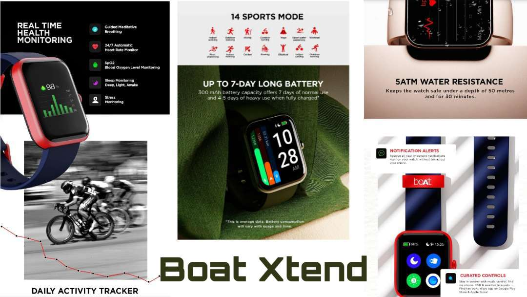 Best Smartwatch Ever By BOAT Under 3000/- Rupees - BOAT XTEND