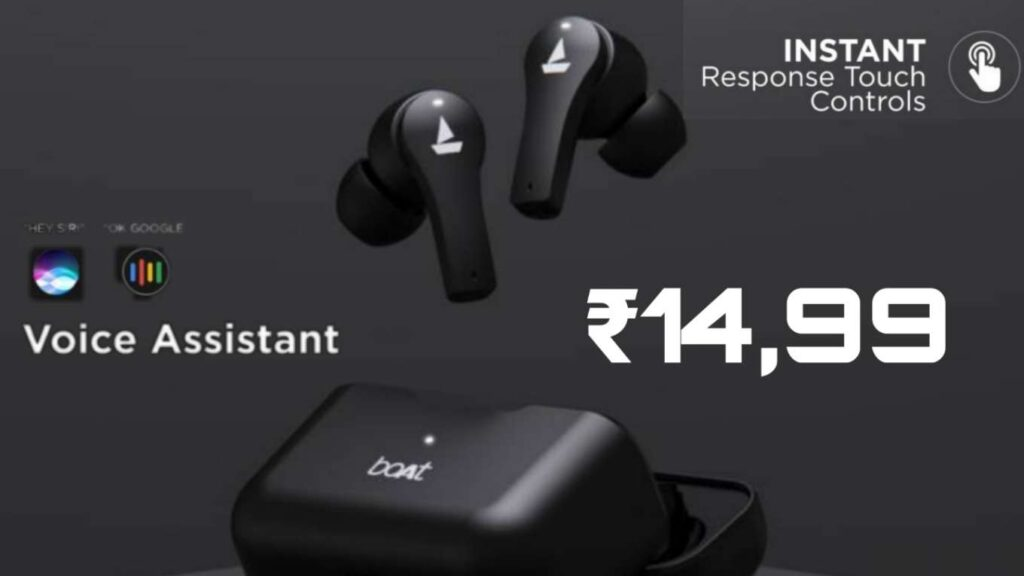boAt Airdopes 101 Officially release in India Price