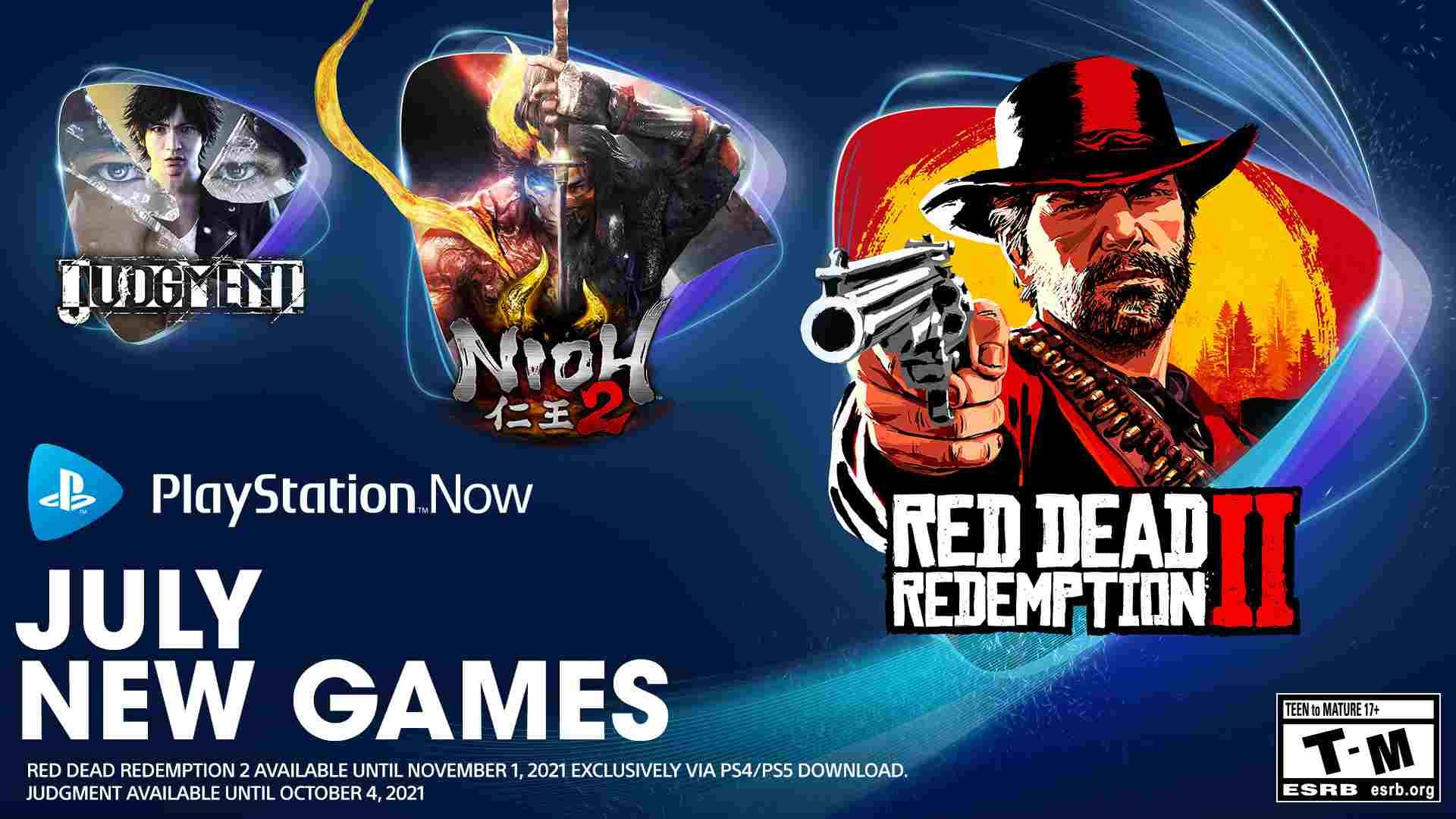 PlayStation Now Games for 6 July Red Dead Redemption 2 More Games