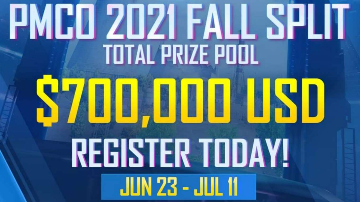 PMCO 2021 Fall Split How to Register & Requirements
