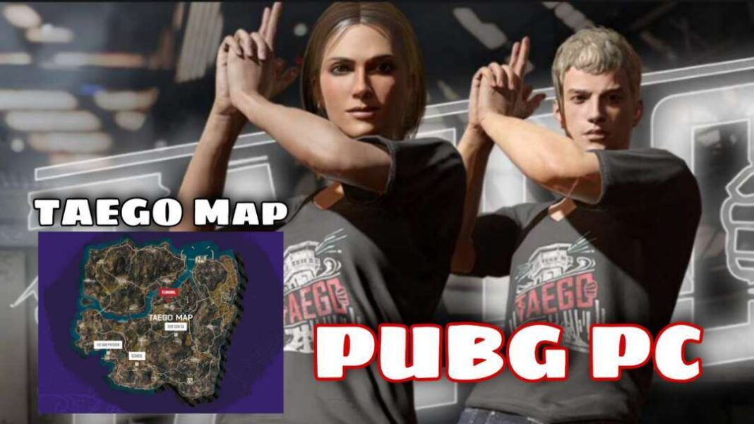 PUBG PC TAEGO Map & Quiz Event with Answers Reward is Taego T-shirt