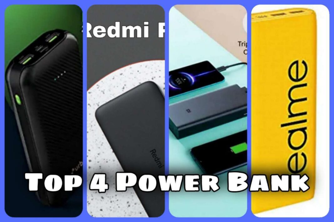 Top 4 Best Power Bank Why Need 20000mAh Battery with 18W Fast Charging