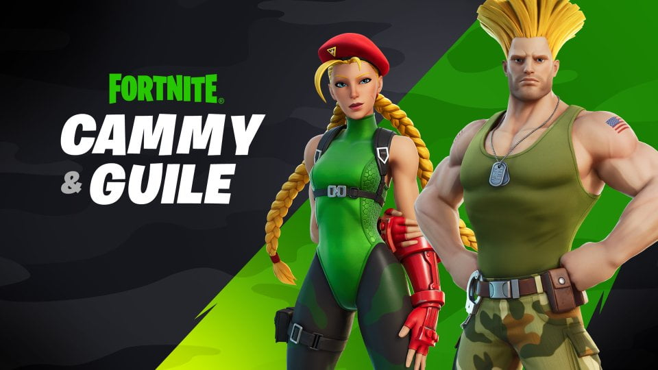 Fortnite Release Iconic Skins of Street Fighter On 7 August 2021