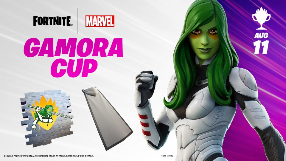 Guardian Of The Galaxy And Now Fortnite Gamora Arrive To Project Island