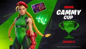 Fortnite Street Fighter Cammy Tournament Cup