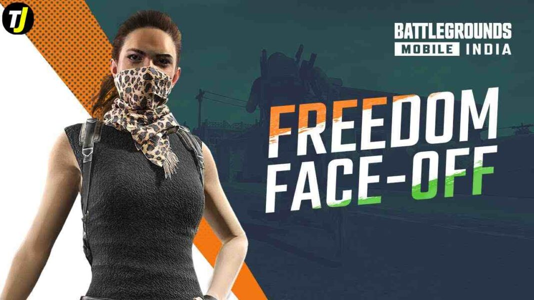 BGMI Independence Day Freedom Face Off -