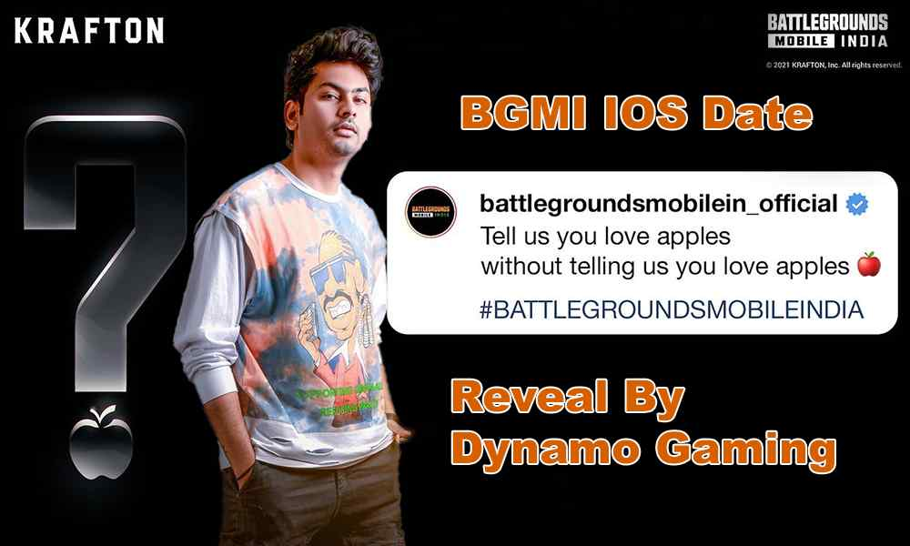 BGMI IOS Date Reveal By Dynamo Gaming On His Stream