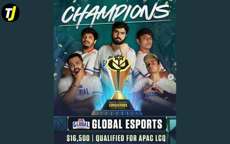 Global Esports Champion of Valorant Conquerors Championship by NODWIN Gaming