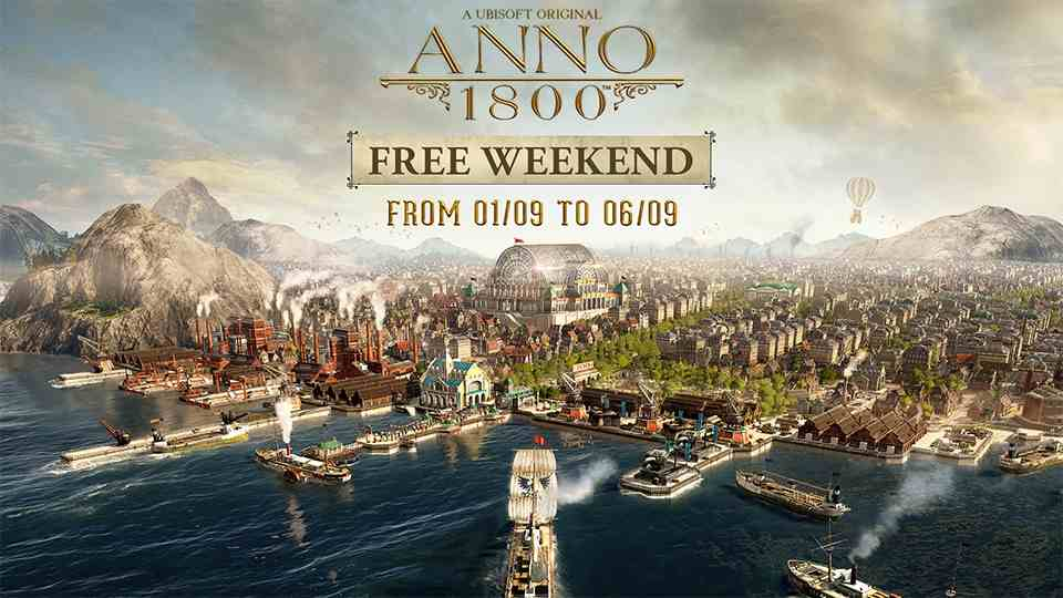 Anno 1800 free weekend previous date