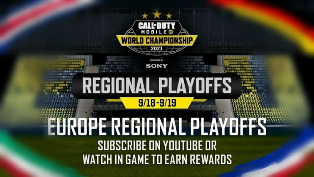 COD Mobile World championship final Europe playoff team and detail