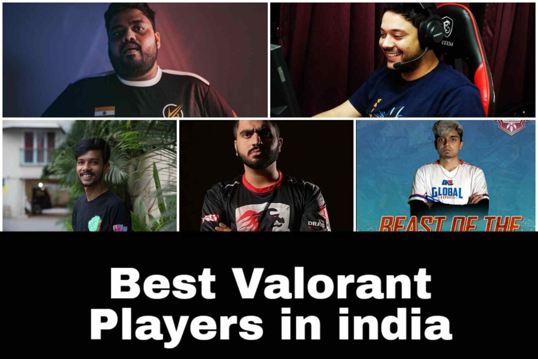 Top 5 best Valorant Players in india currently