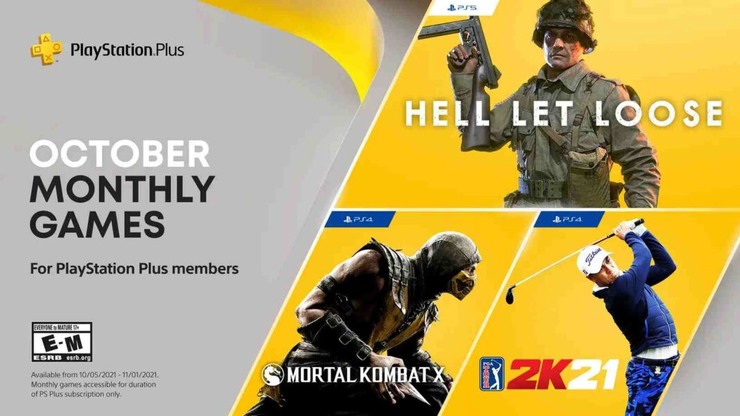 PlayStation Plus free games for October 2021