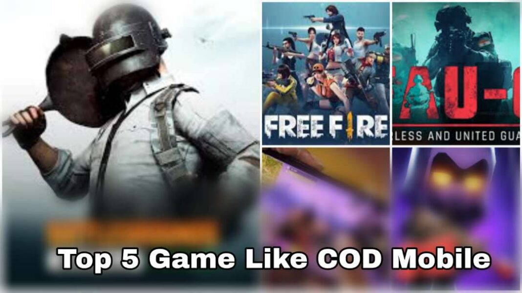 Top 5 Game Like COD Mobile (Call of Duty Mobile) Best Alternative Games