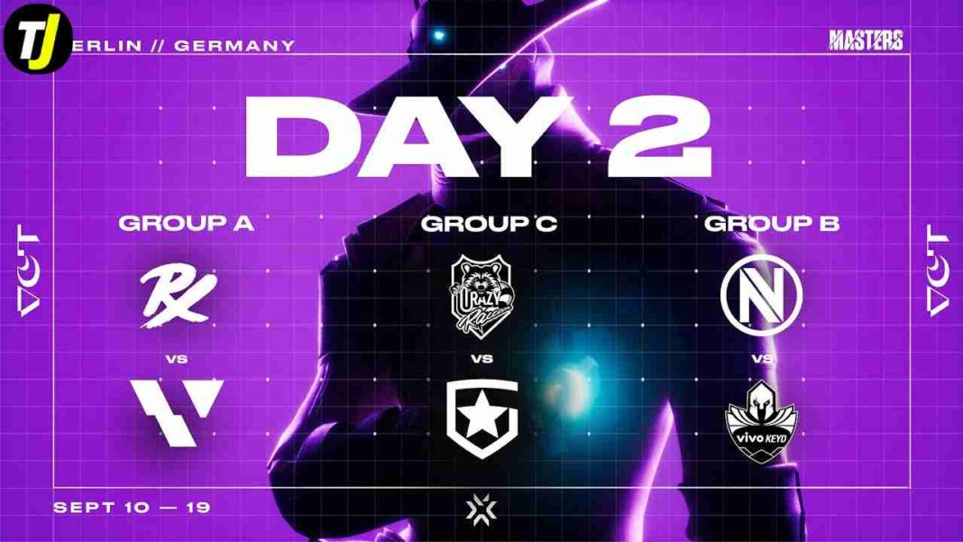 VCT Masters Berlin Group Stage Day 2