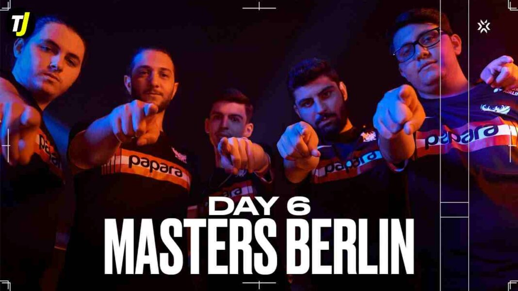 Valorant Championship Tour Stage 3 Masters Berlin Group Stage Day 6
