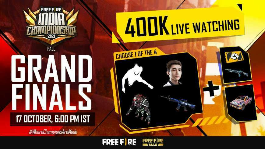Free Fire India Championship 2021 Fall Grand Final Schedule, Team Name, Prize Pool